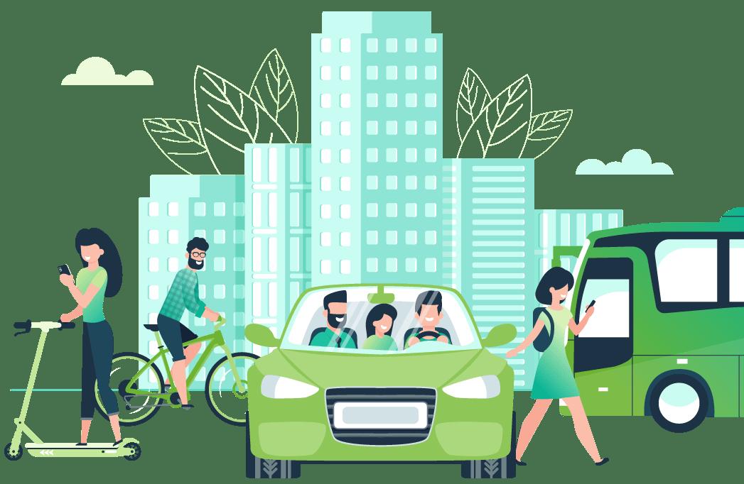 fomentar la movilidad sostenible con Ciclogreen