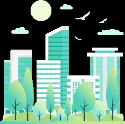 reducción de co2 para conseguir ciudades sostenibles
